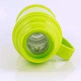 1,8 л две пластмассовые чашки термос вакуумный контейнерах со стеклянной бутылки воды (FGAO гильзы)