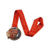 Medalha Running gravada da raça do projeto de China costume livre