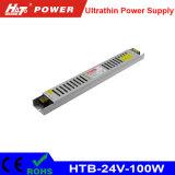 bloc d'alimentation de commutation de 100W 4A 24V pour le signe ultra-mince de Lightbox