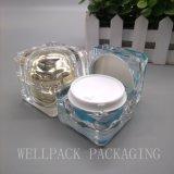 Vaso traslucido 15g 30g 50g del vaso crema acrilico caldo di vendita