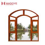 Il grano di legno classico di stile cinese Inclinare-Gira la finestra