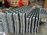 알루미늄 금속에 의하여 직류 전기를 통하는 강철 담 정원 담 플랜트
