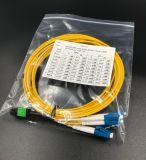Koord LSZH van het Flard mpo-LC van de vezel het Optische Duplex voor het Netwerk van het Lokale Gebied