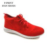 Diseño famoso de Flyknit de los zapatos corrientes de los zapatos del deporte de la copia de la marca de fábrica de la fábrica unisex