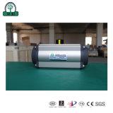 Válvula Borboleta Filmagem Actuator-Real pneumática