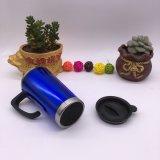 Kundenspezifische doppel-wandige Plastikabbildung-Kaffee-Arbeitsweg-Becher (SH-SC13)