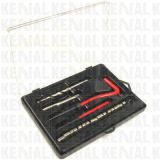 25 частей комплекта для ремонта резьбы с просто инструментом установки