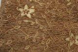 tissu de meubles de Chenille de 200GSM Brown par l'approvisionnement de la Chine