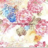 Zerstreung des Sand-100%Polyester des Farbanstrich-3D druckte Gewebe für Bettwäsche-Set