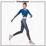 La yoga caliente de la ropa de la gimnasia del desgaste de 2016 de las ventas deportes de la aptitud jadea Legging para las mujeres