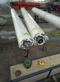 Rouleau recouvert de poudre d'aluminium les portes de l'obturateur
