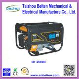 Générateur d'essence de recul de pouvoir de câblage cuivre de Bt-2500b 2kw 5.5HP