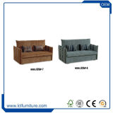Kleines Sofa-Bett-Kabriolett-Sofa-Bett des Platz-Falten-heraus Lagerschwelle-König-Size
