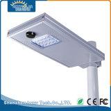 15W Toutes les LED extérieur intégré dans une rue lumière solaire