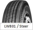 LANWOO 상표 타이어 수송아지 패턴 TBR 트럭 타이어 (LW801 패턴)