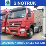 強いトラックフレームが付いているアフリカのための371HP HOWOのトラックヘッド
