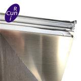 Astim sus 201 304/L 316/L 310S 321 409 430 2b ba repère de miroir de tôles en acier inoxydable