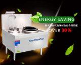 Populaire Energie - het Fornuis van de besparing met Dubbele Brander en Enige Stomende Tank