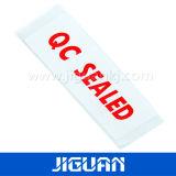 인쇄한 다채로운 커트 로고 레이블 스티커를 정지한다