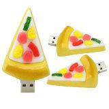 Banheira de frutas frescas Sushi Morango Unidade Flash USB promocional de PVC/marca o seu dispositivo USB de 2G/4G/8G/16g