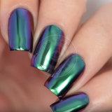 Pigmento brillante del camaleón de la manicura del polvo del espejo del cromo para el polaco de clavo