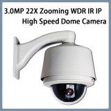 De Camera van de Koepel van de Hoge snelheid van de Veiligheid van kabeltelevisie van de monitor 3.0MP 22X IP WDR