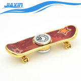 Multi-Color Scooters Fidget mano Spinner con monopatín