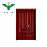 Zhejiang Yujie Fabrication Hot Sale porte pleine d'entrée en aluminium