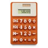 Солнечный чалькулятор силикона 8 чисел с подгонянным логосом