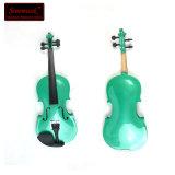 녹색 바이올린의 저가 최고 상표