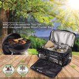 Barbecue Accessoires outil réglé avec la preuve de l'eau isotherme Sac Sac de pique-nique du refroidisseur
