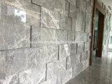 Серый мрамор больших слоев REST мраморные плитки для интерьера