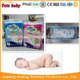 綿材料および柔らかい通気性の吸収の赤ん坊の高品質のおむつ