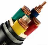 0, 6/1 de quilovolt de cabo distribuidor de corrente isolado PVC/XLPE do condutor do Cu