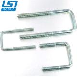 Direkte Schraube des Munufacturer Fabrik-Zink-Beschichtung-unterschiedliche Größen-Quadrat-U