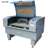 Máquina de grabado del laser de la Dos-Pista
