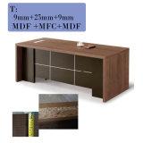 Mesa de escritório executivo com suporte & ficheiro & armário móveis