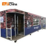 Caminhão elétrico do alimento do barramento do projeto novo do mais baixo preço para a venda
