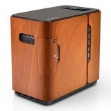 Concentrador portable del oxígeno del uso del hogar del diseño moderno con el humectador