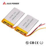 Batterie der Li-Plastik-Batterie-653759 3.7V 1500mAh für Digital-Produkte