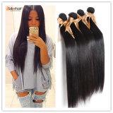 Extensões 100% retas peruanas do cabelo humano do Virgin