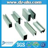 Профиль 6063 T5 Индонесии алюминиевый для раздвижной двери Casement окна
