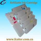 Rellenable Cartucho de tinta a granel para HP72 T610 T770 T790 T1100 Impresora