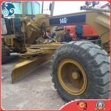 Graduador del motor del gato 14G de la maquinaria de la construcción de carreteras de la segunda mano con el destripador 3teeth para la venta