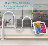 Universel support paresseux de col de cygne de bride de long support flexible de téléphone de 360 de degré bras de rotation