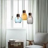 吊り下げ式ライトのための省エネのガラス現代屋内ライト
