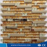 Mosaico di vetro della decorazione d'argento per la parete ed il pavimento
