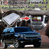 Android 5,1,4,4 GPS navigation box for Chevrolet Suburban Tahoe etc. video INTERFACE GM Intellink Mylink system