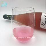copo plástico do vinho de 16oz 450ml, vidro de vinho descartável plástico