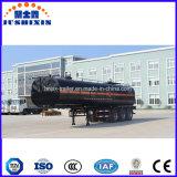 30-50 Aanhangwagen van de Tanker van het Asfalt van het Vervoer van het Bitumen van m3 de tri-As Verwarmde